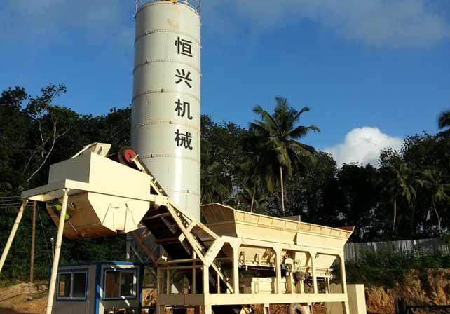 菲律宾移动式稳定土厂拌设备
