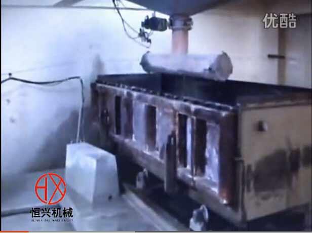年产15万立方加气砖生产线视频