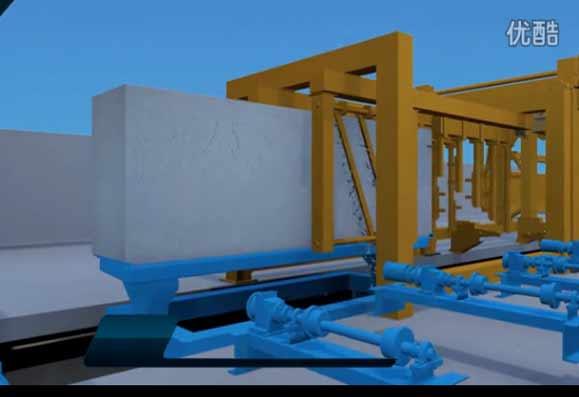 年产30万立方加气混凝土生产线视频