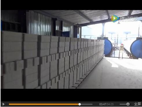 灰砂砖生产线 耐火砖生产线视频