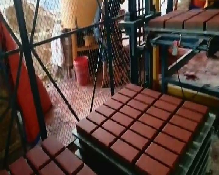 透水砖生产线- 恒兴透水乐动体育app视频
